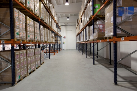 Packagin Materials' Warehouse